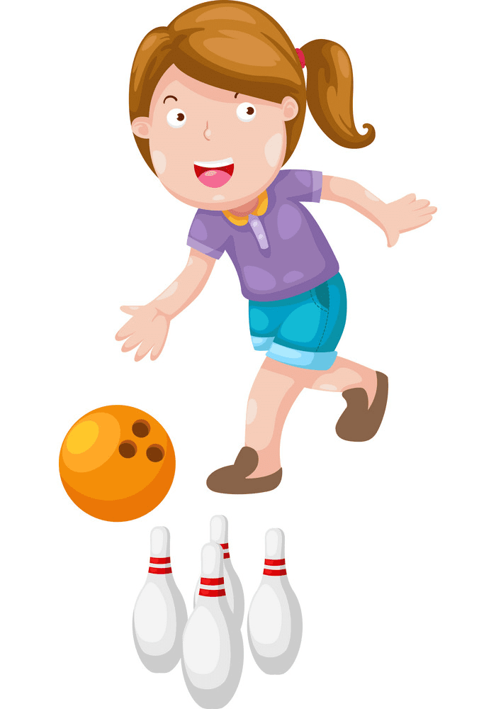 Play Bowling clipart