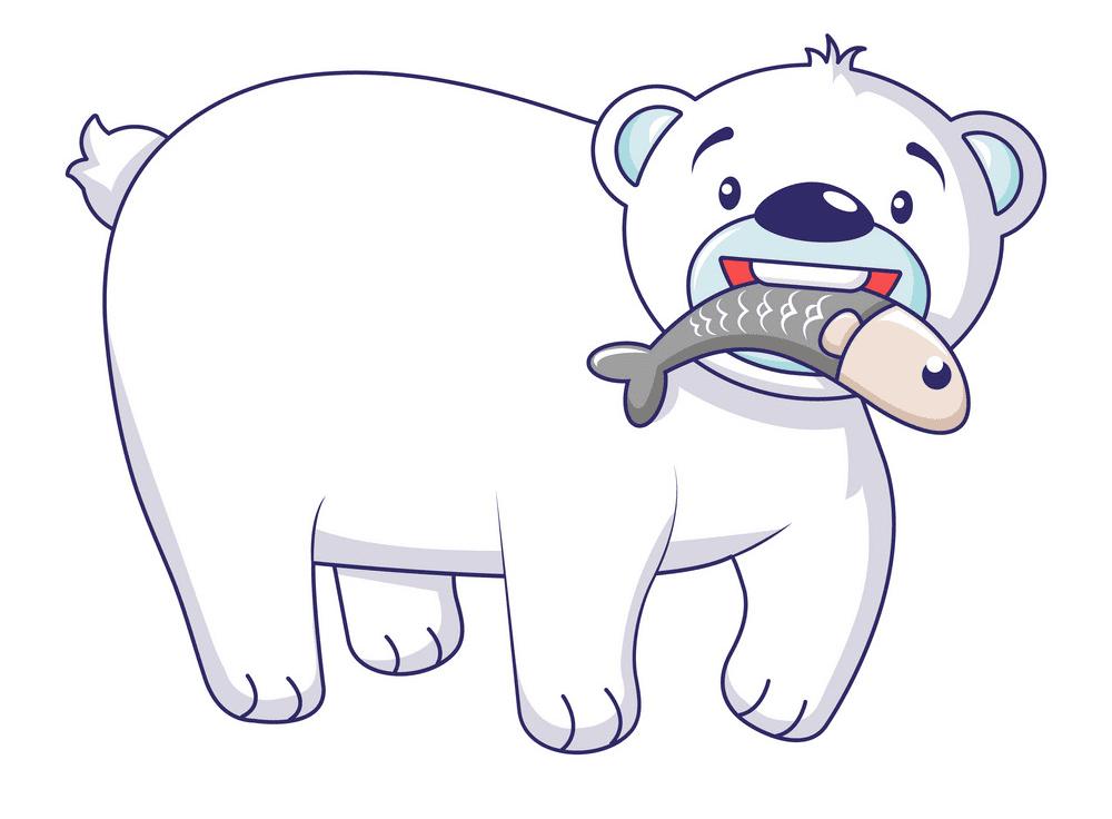 Polar Bear clipart 1