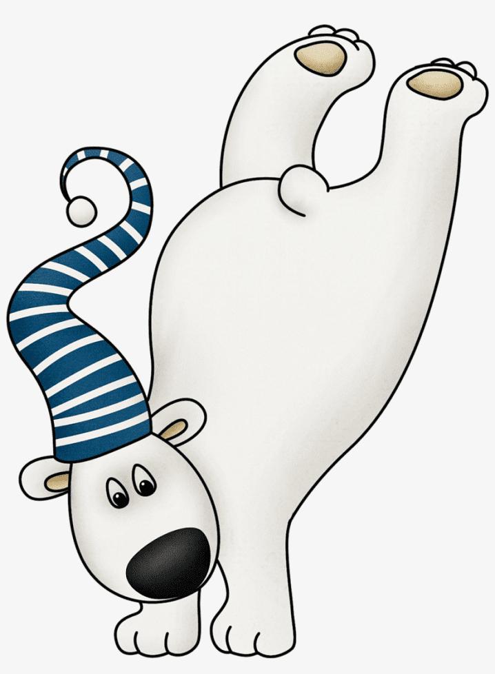 Polar Bear clipart 10