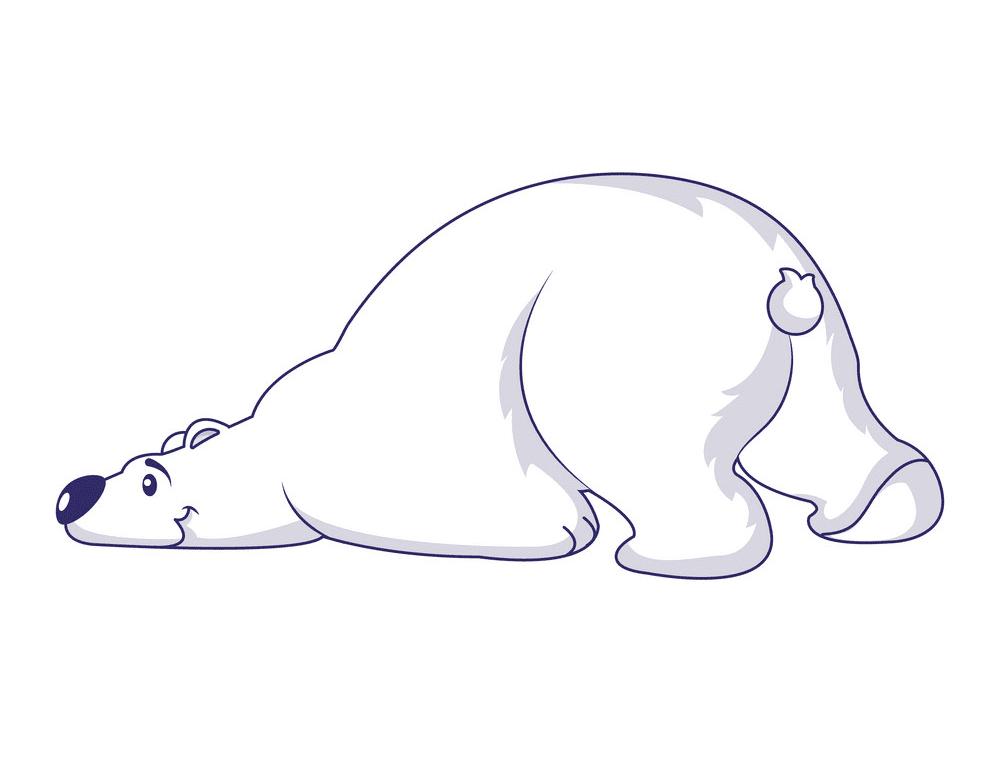 Polar Bear clipart free 2