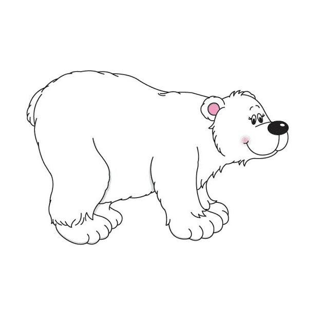 Polar Bear clipart free 4