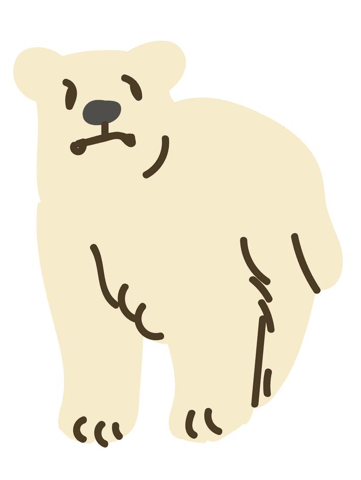 Polar Bear clipart image