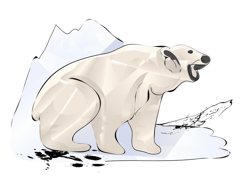 Polar Bear clipart images