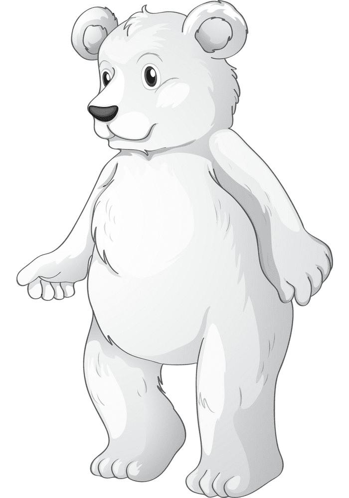 Polar Bear clipart png image