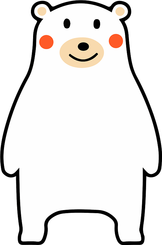 Polar Bear clipart transparent 1