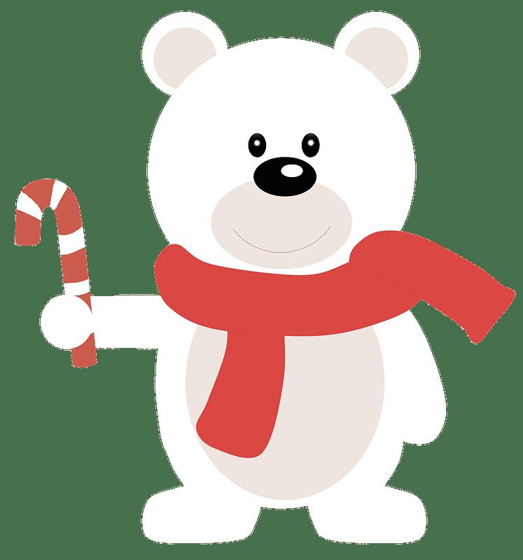 Polar Bear clipart transparent 10