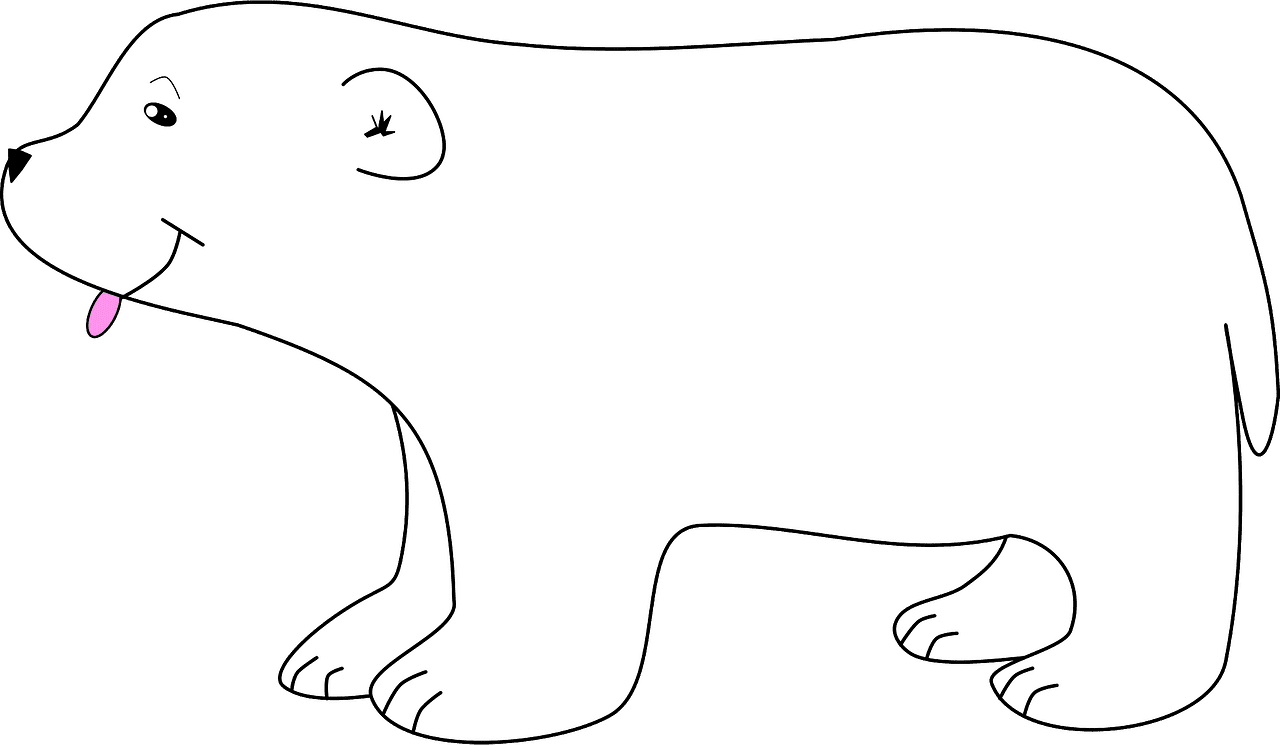 Polar Bear clipart transparent 14