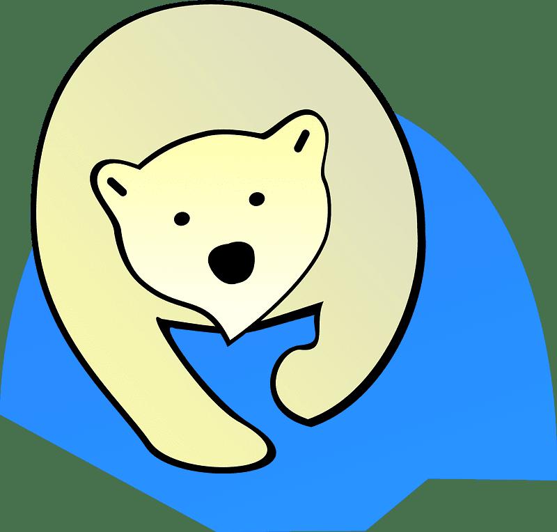 Polar Bear clipart transparent 3