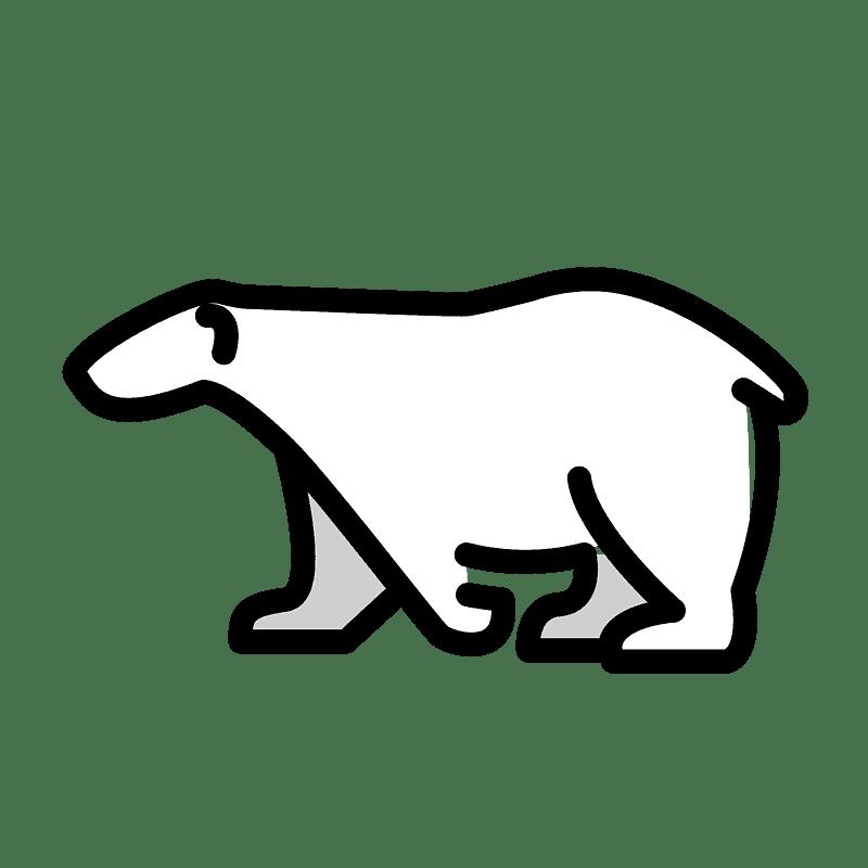 Polar Bear clipart transparent 5