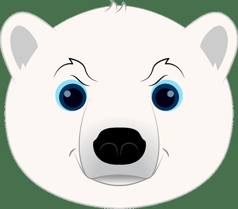 Polar Bear clipart transparent 7