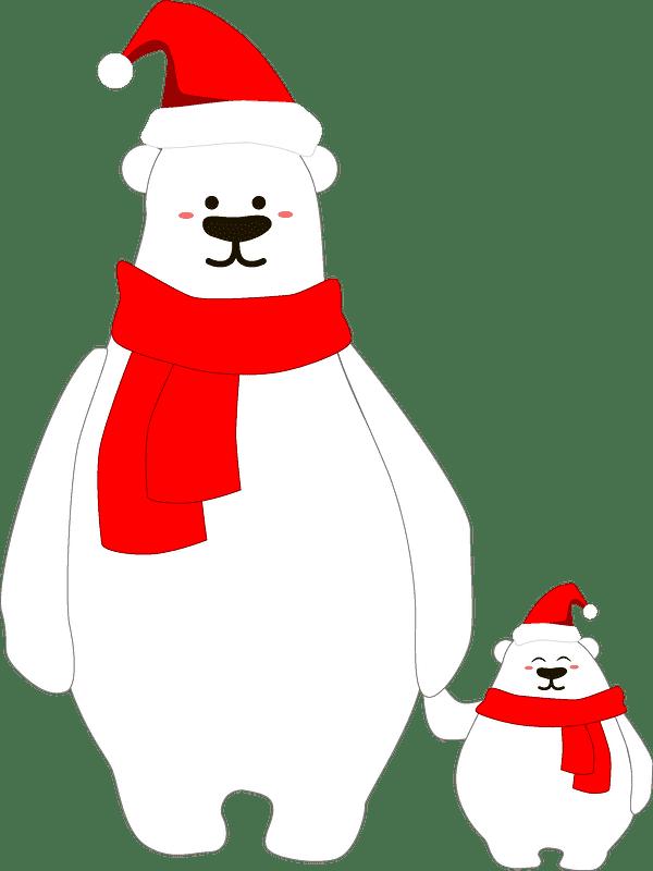 Polar Bear clipart transparent 8