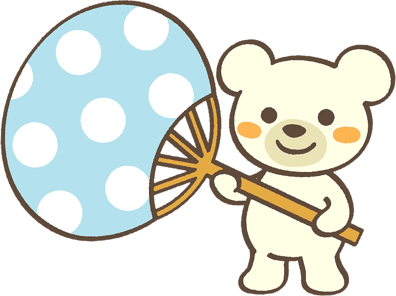 Polar Bear clipart transparent background 10