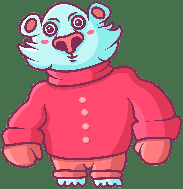 Polar Bear clipart transparent png