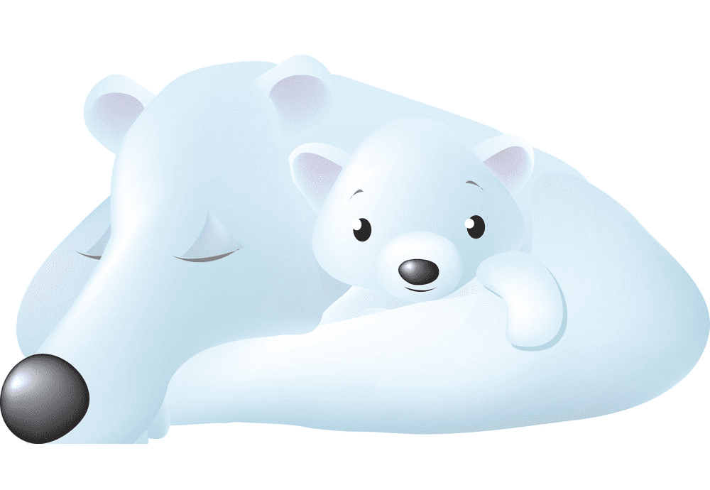 Polar Bears clipart for free