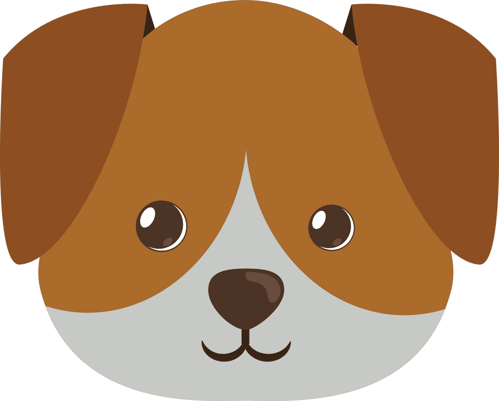 Puppy Face clipart image