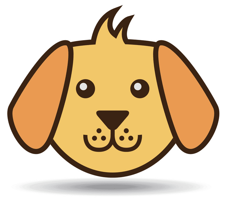 Puppy Face clipart