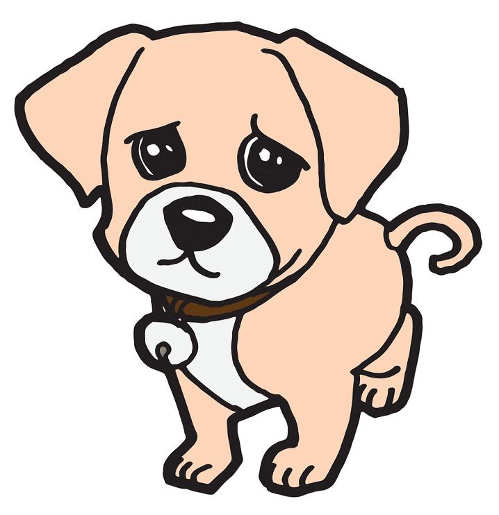 Puppy clipart 3