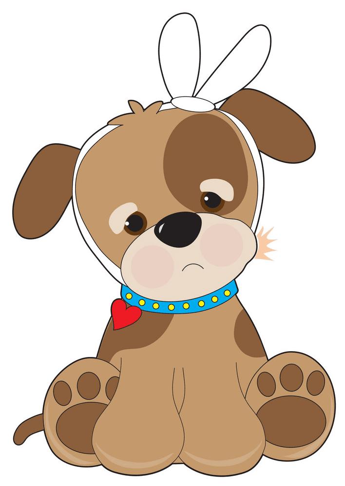 Puppy clipart 4