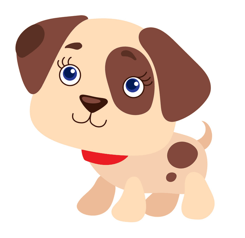 Puppy clipart download