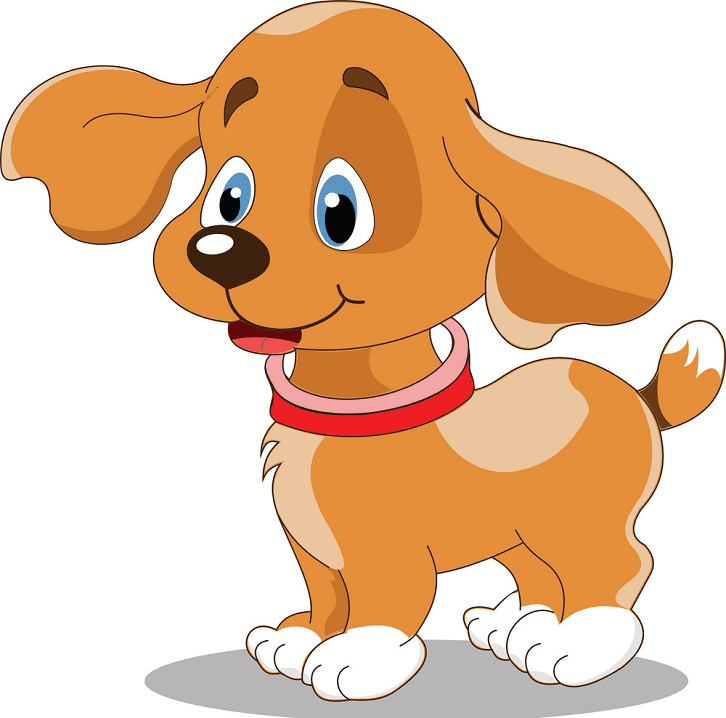 Puppy clipart for free