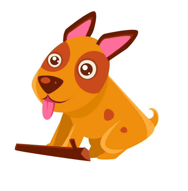 Puppy clipart free for kid