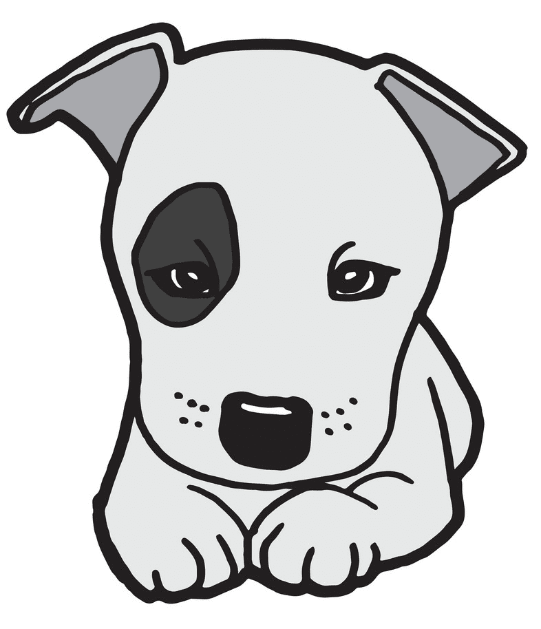 Puppy clipart free for kids