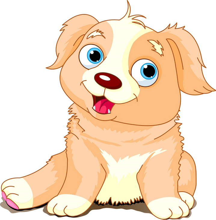 Puppy clipart image