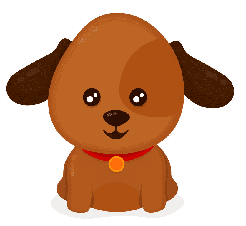Puppy clipart png 4