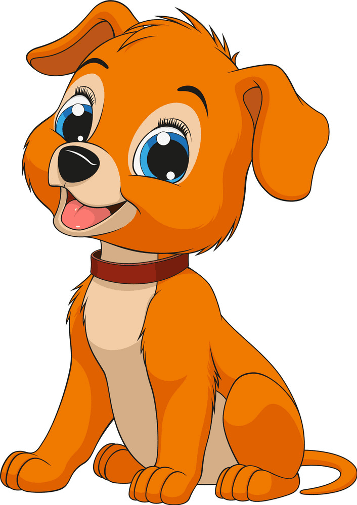 Puppy clipart png 7