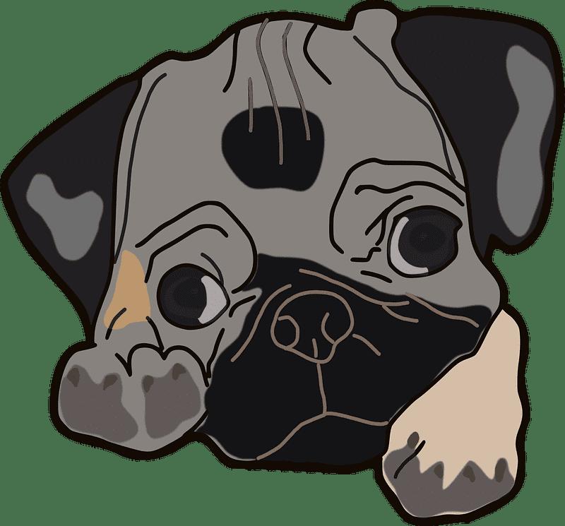 Puppy clipart transparent background 2