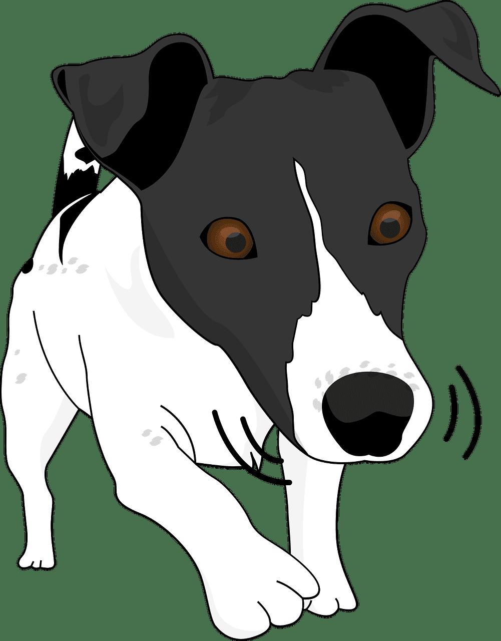 Puppy clipart transparent background 4