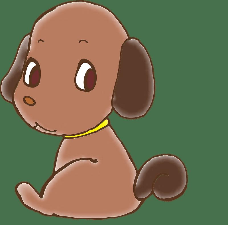 Puppy clipart transparent background 5