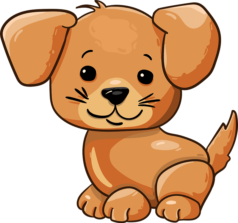 Puppy clipart transparent download