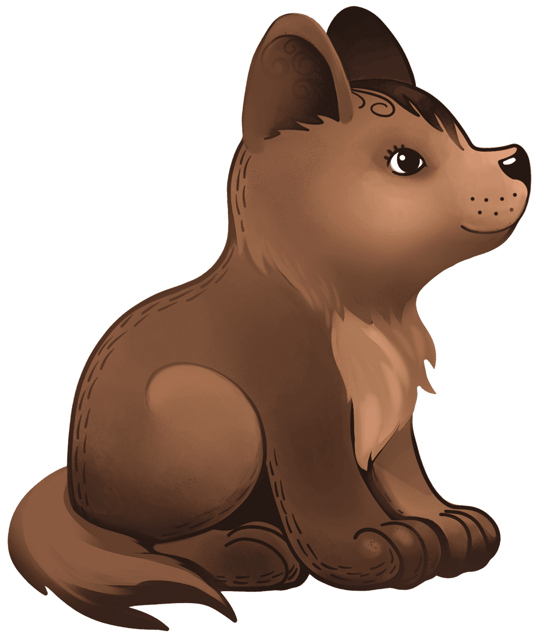 Puppy clipart transparent for kid