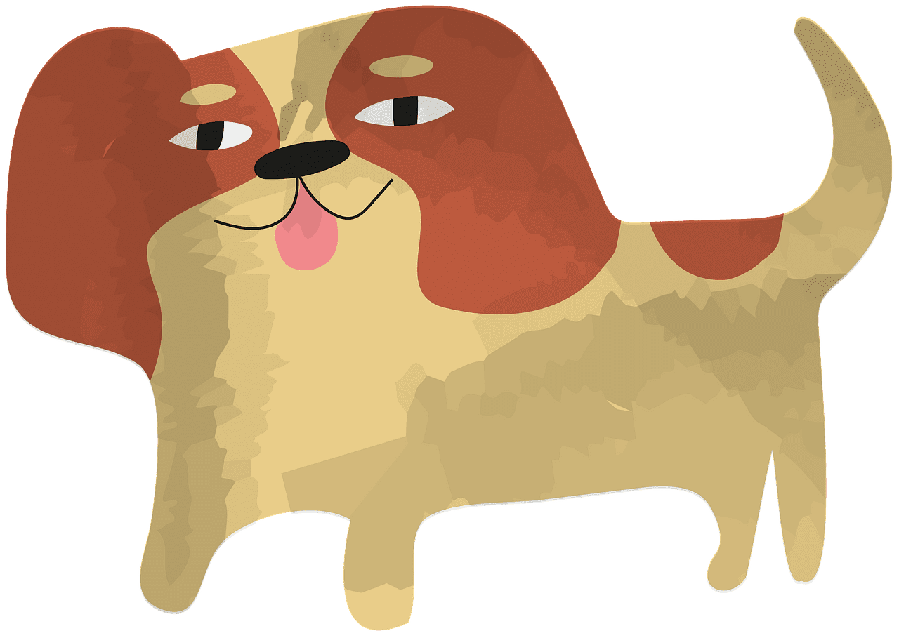 Puppy clipart transparent for kids