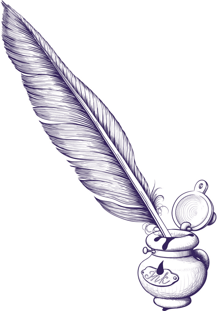 Quill Pen clipart image
