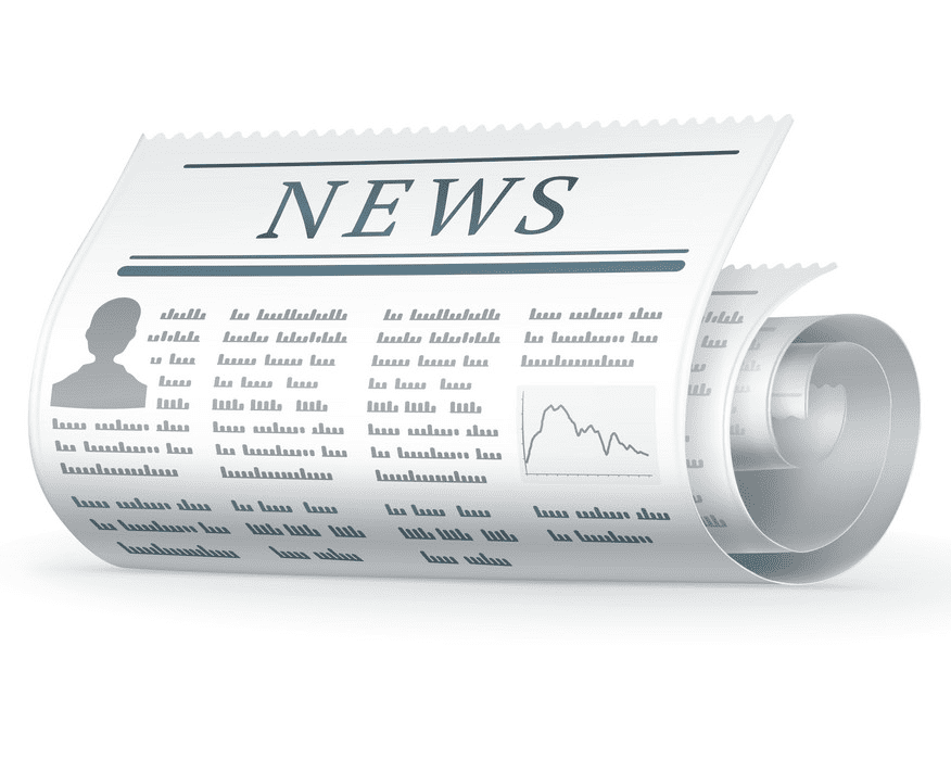 Rolled Newspaper clipart free