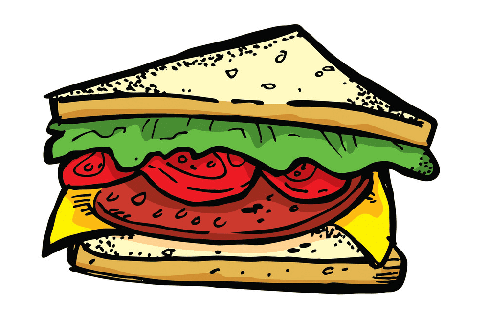 Sandwich clipart 1