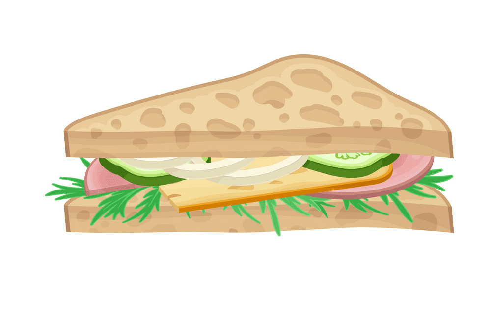 Sandwich clipart 2
