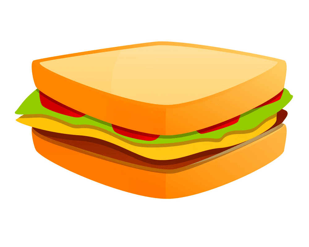 Sandwich clipart 3