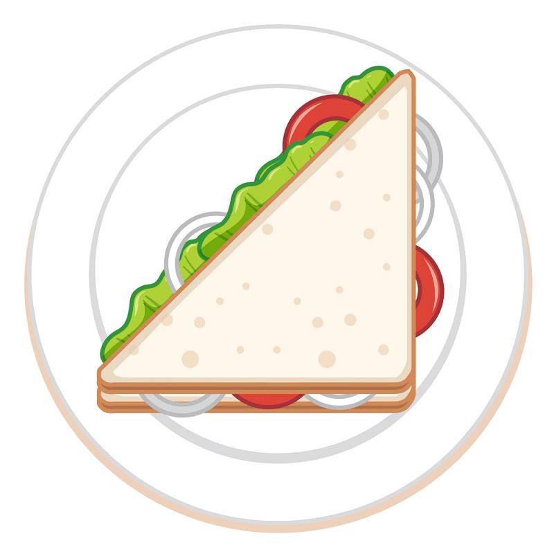 Sandwich clipart 5