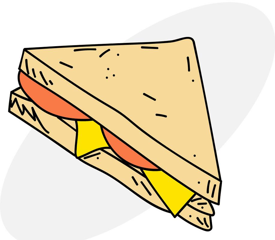 Sandwich clipart 8