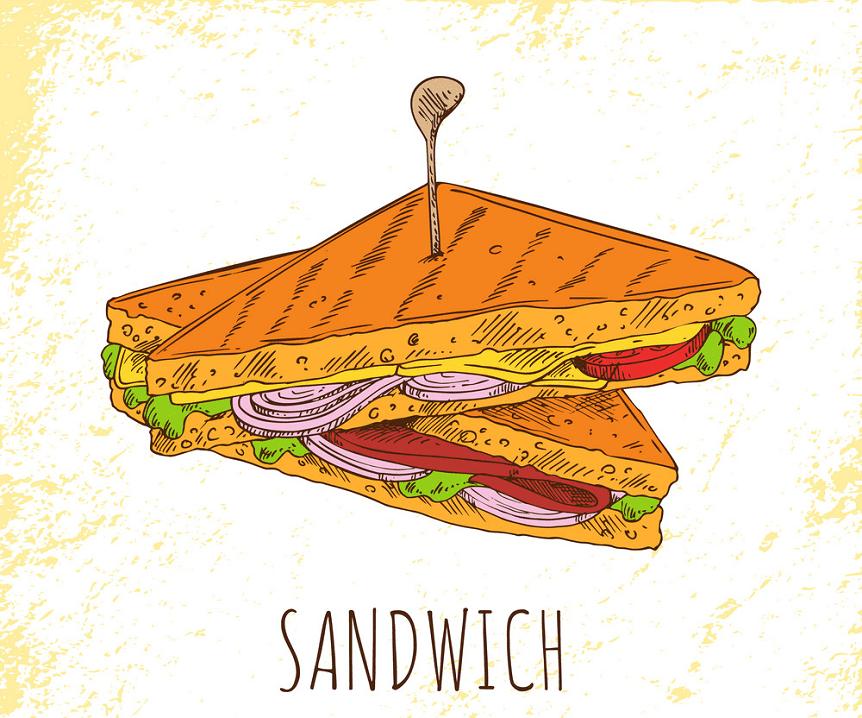Sandwich clipart 9
