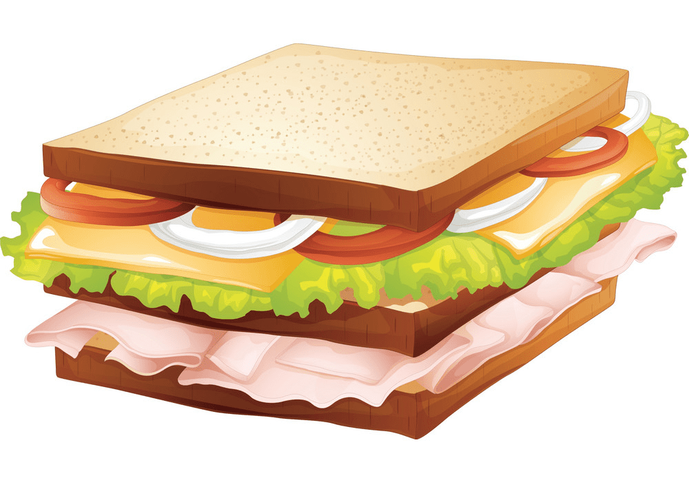Sandwich clipart for free
