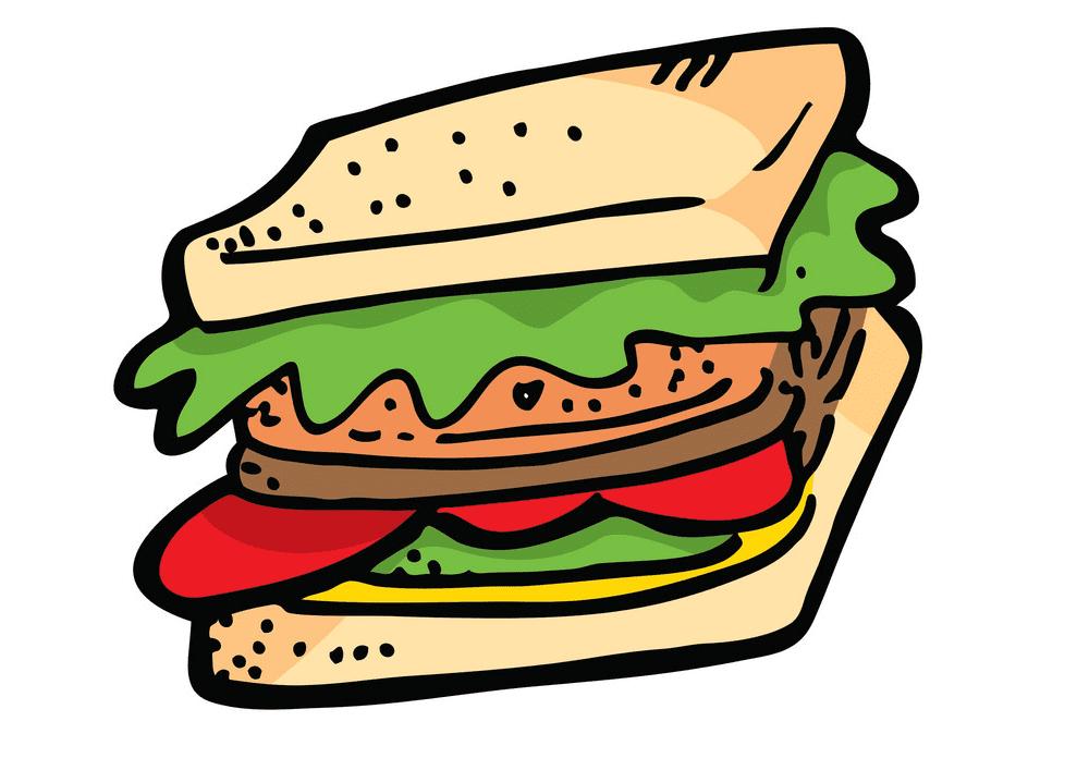 Sandwich clipart free image