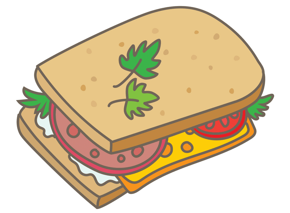 Sandwich clipart free images