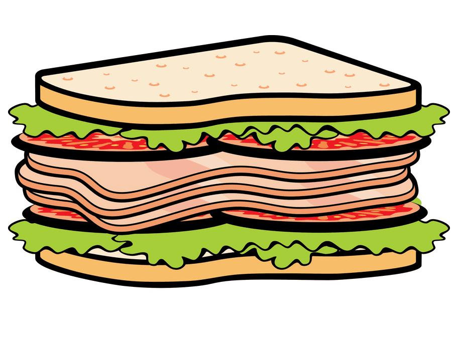 Sandwich clipart free picture