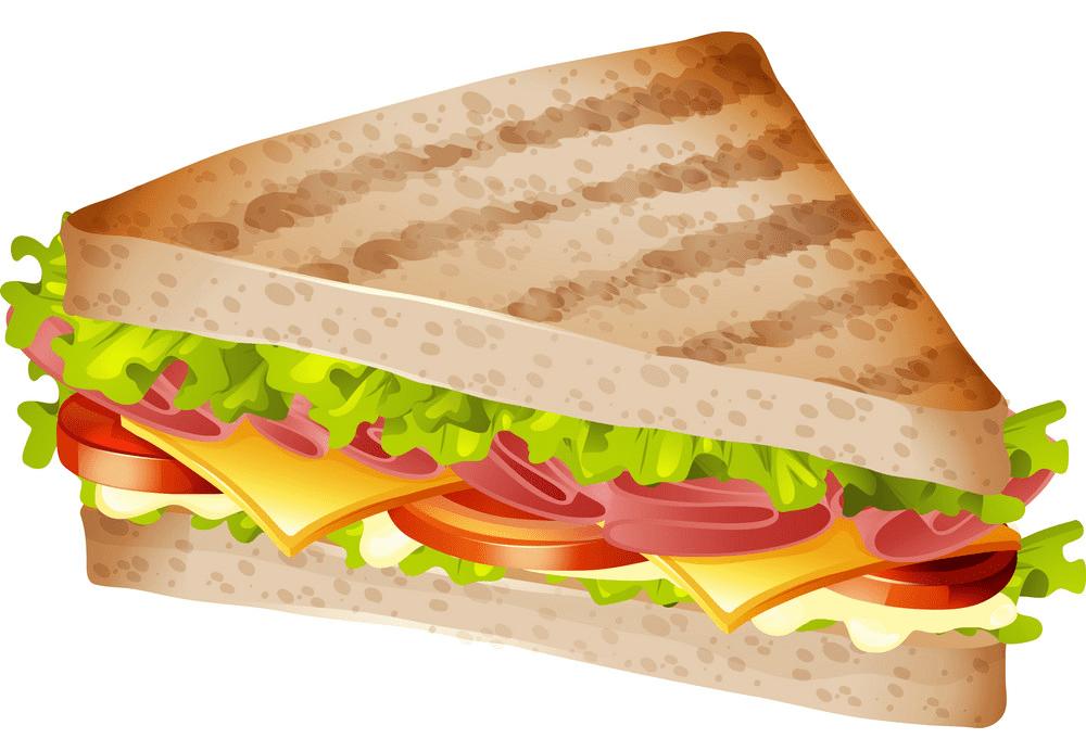 Sandwich clipart image