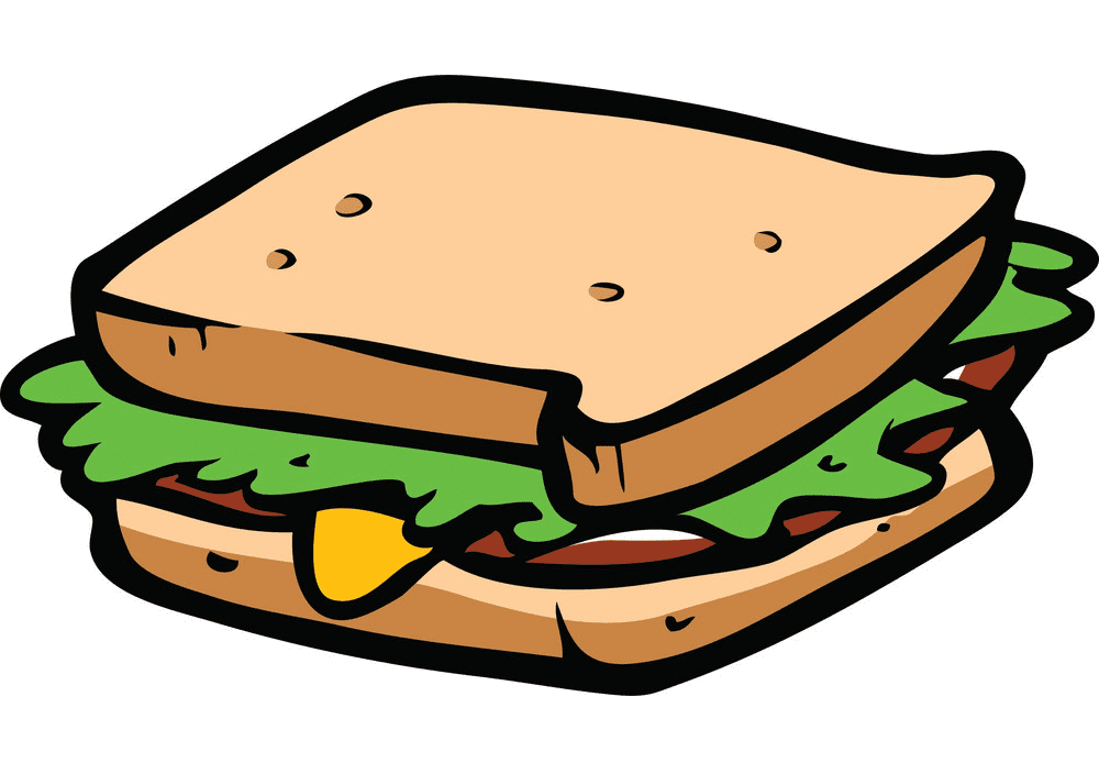 Sandwich clipart images