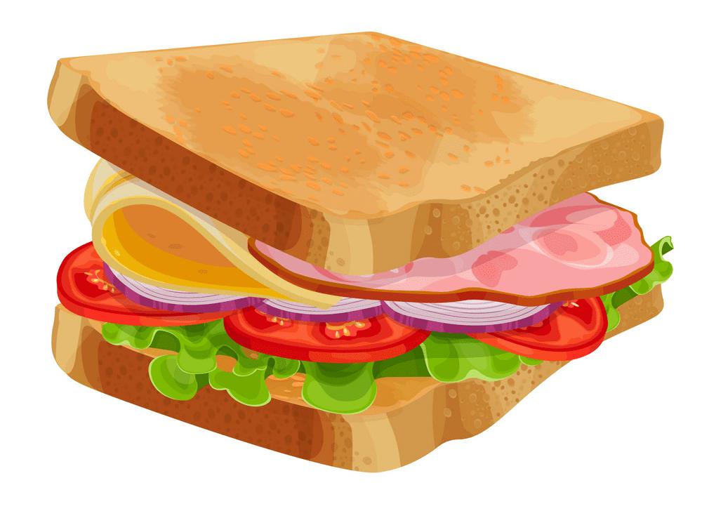Sandwich clipart picture